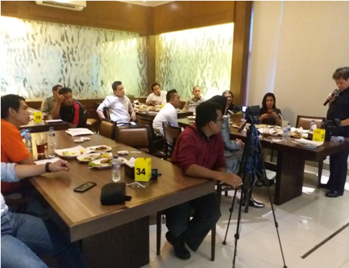 Wisenet Gathering with Ciber Security – Kembur Kuring  Resto